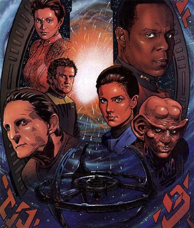 """Think of it—five months ago no one had ever heard of Bajor or Deep Space Nine. Now all our hopes rest here."""
