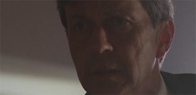 Boy, the Cigarette-Smoking Man does get grouchy if he doesn't get his morning smoke...