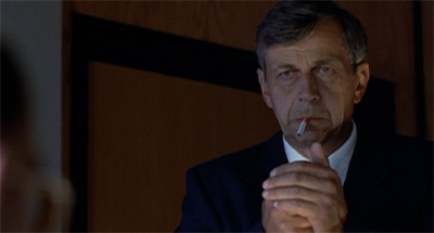 The Cigarette-Smoking Man picked the wrong week to try to cut back...