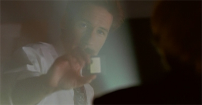 Mulder lets it slide...