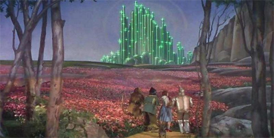 """""""Gee, Scarecrow, you THINK this is the Emerald City?"""""""