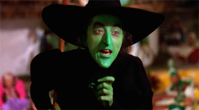Which old witch...