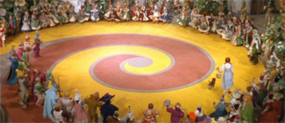 You know, I always wondered where the red brick road went...
