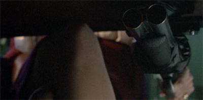 Riding shotgun...