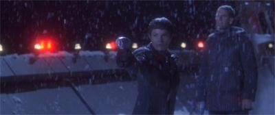 Snow down!