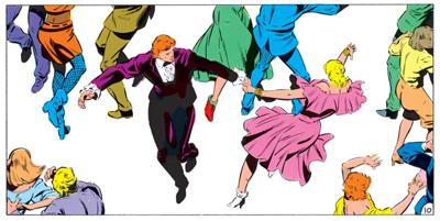 Everybody dance now...
