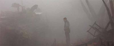 Fog of war...