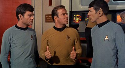 Kirk rates this episode two thumbs up...