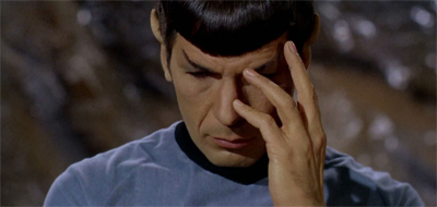 Hey now, Spock... self-melding is a filthy habit...