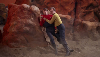 """Damn it, man. I've lost too many red shirts today!"""
