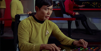 Welcome back, Sulu...