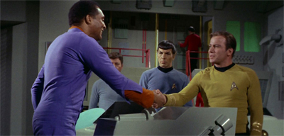 Shaking things up on the Enterprise...