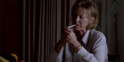 Cigarette-Smoking matriarch...