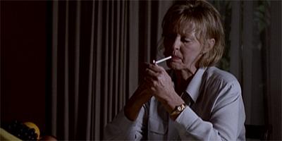 Cigarette-Smoking matriarch...