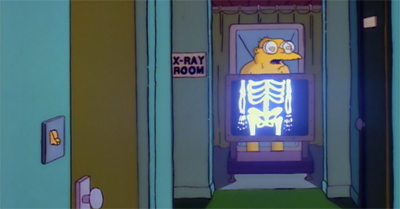 Radioactive man!
