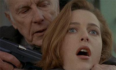 Gun to her head, Scully admitted she was not overly fond of this two-parter...