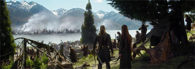"""You know what the camera crews never stick around for? The Middle Earth refugee camps."""