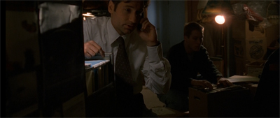 Mulder was so desperate for answers that he started searching the Y-files. Those where much more existential.