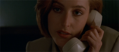 Scully is not amused...