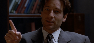 Fox Mulder. Paragon of sensitivity...