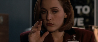 Scully rose to the occasion...