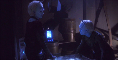 The best laid plans of Andorians and Vulcans...