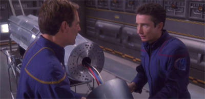 """Captain, would you care to assist me in performing surgery on a photon torpedo?"""