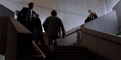 Mulder and Scully (stand-ins) cameo!