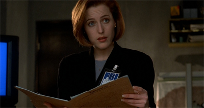 """What? I'm meant to more than just disagree with you, Mulder?"""