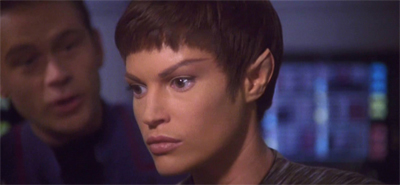 T'Pol won't ear him out...