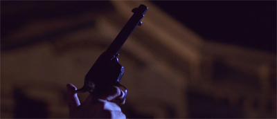 Spectre of gun...