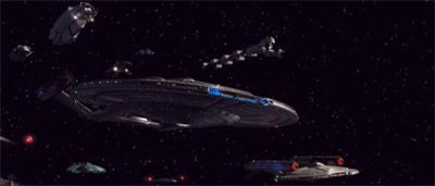 A literal star fleet...