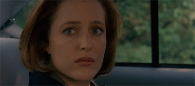 Yes, Scully. Mulder just abandoned you to a teamwork seminar.