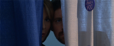 Peering through the curtain...