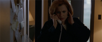 Scully's calling...