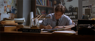 The world according to Mulder...