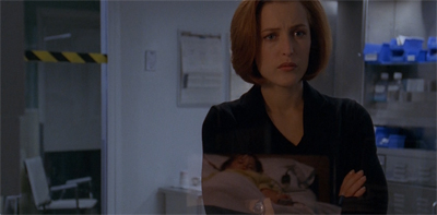 Scully is super dooper sad...