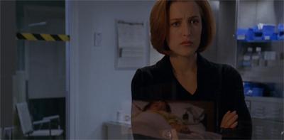 Scully is super dooper sad...