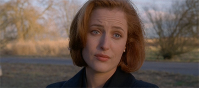 Gillian Anderson has reached the point where she can roll her eyes without rolling her eyes.