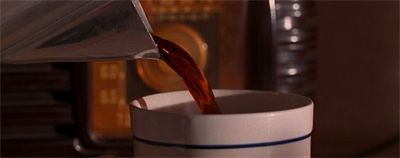 Damn fine cup of coffee...