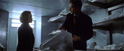 Because it just isn't The X-Files if Scully doesn't examine a dead body...
