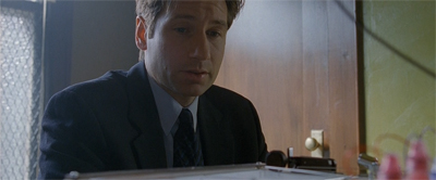 Mulder detects a note of sarcasm...