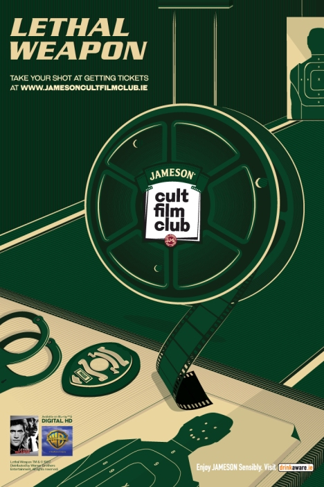 Jameson Cult Film Club screening of Lethal Weapon May 20-21