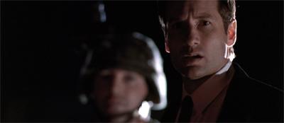 Mulder in black...