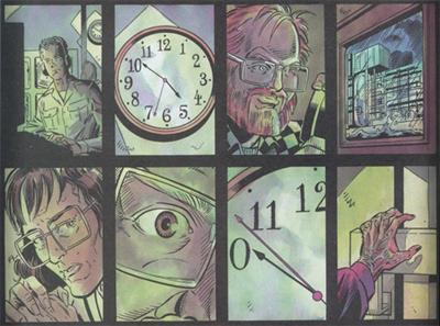 Doomsday clock...