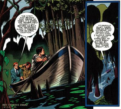 Swamp Thing!