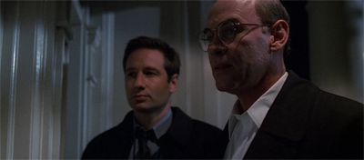 """""""C'mon, this is more fun than it would be with Scully, right?"""""""