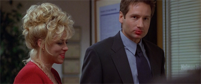 """Well, the first assignment of the Fox Mulder Dating Agency has been a bit of a disaster..."""