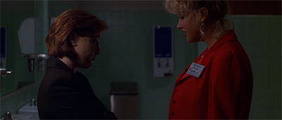 """""""The Dana Scully Dating Agency, by contrast, was a roaring success..."""""""