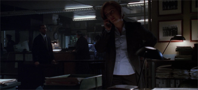 """No, Mulder. I would not say it's an x-ceptional case. It's a terrible pun."""